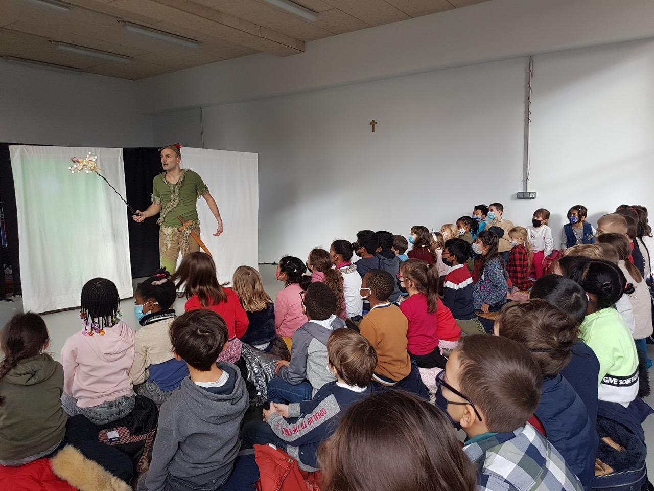 Peter Pan, un spectacle pour toute l'école