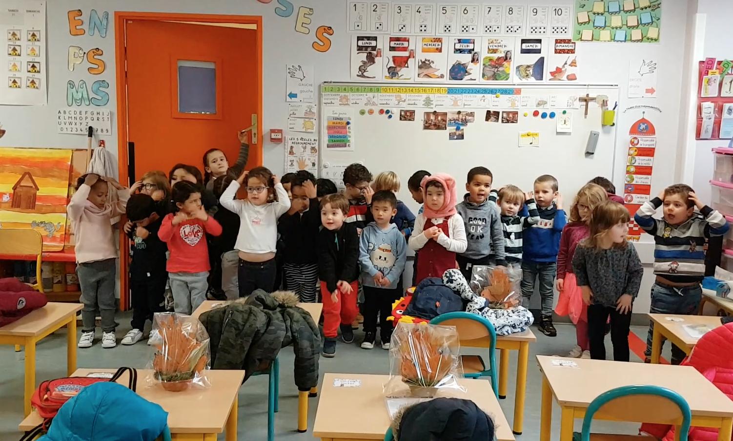Ateliers d'anglais en maternelle